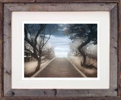 natural barnwood gallery frame